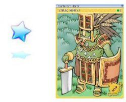 Tapa-Olho Cósmico com Carta Mvp Orc Herói