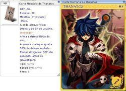 Carta Mvp Memória de Thanatos