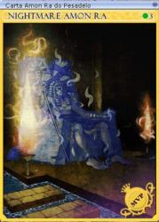 Carta Amon Ra do Pesadelo